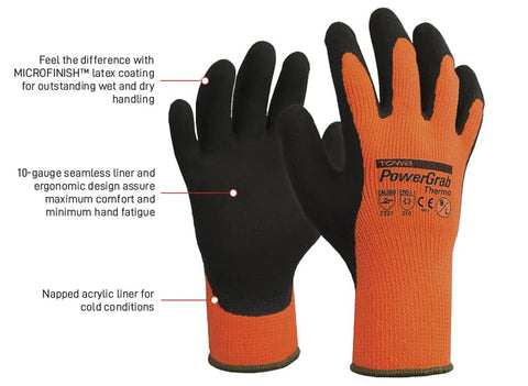 Esko Towa Powergrab Thermo Glove - Reinol NZ LTD