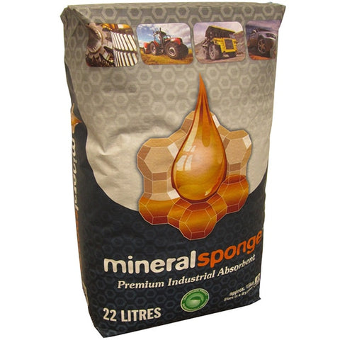 Mineral Sponge 22L Bag (56/ Pallet) - Reinol NZ Ltd.