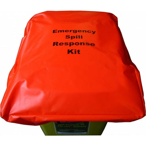 240L Spill Kit Wheelie Bin Cover - Reinol NZ Ltd.