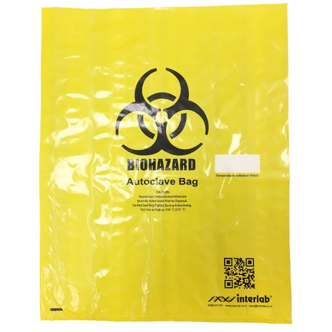Biohazard Disposal Bag Yellow 480 x 610mm - Reinol NZ Ltd.