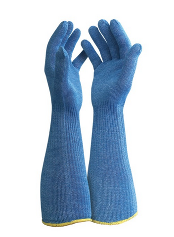 BLADE CORE Cut 5 Blue Food Long Cuff Glove - 35cm - Reinol NZ Ltd.