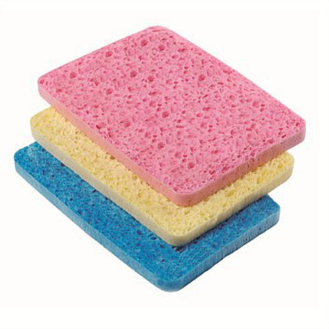 Raven Spontex All Purpose Sponges 145 x 100 x 10mm Thick 3pk - Reinol NZ Ltd