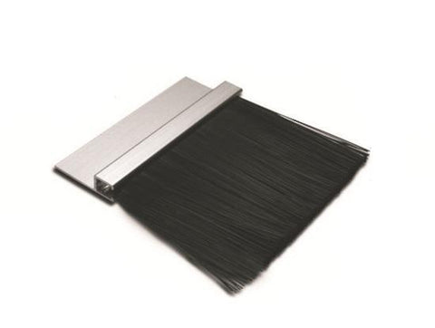 DOOR STRIP BRUSH ALLOY BACK 1.5 METRES - Reinol NZ Ltd.