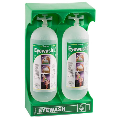Tobin Mobile Stand 2 x 1L Eyewash Bottles - Reinol NZ Ltd.