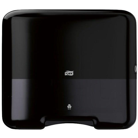 Tork H3 Singlefold Hand Towel Dispenser - Black - Reinol NZ Ltd.