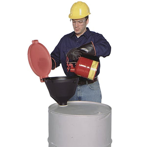 Ultra Funnel - Burp Free With Hinged Lid (For Drums) - Reinol NZ Ltd.