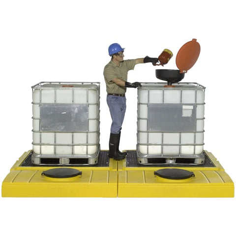 Ultra Two Deck Modular IBC System (2 Pallets + 2 Tanks) - Reinol NZ Ltd.
