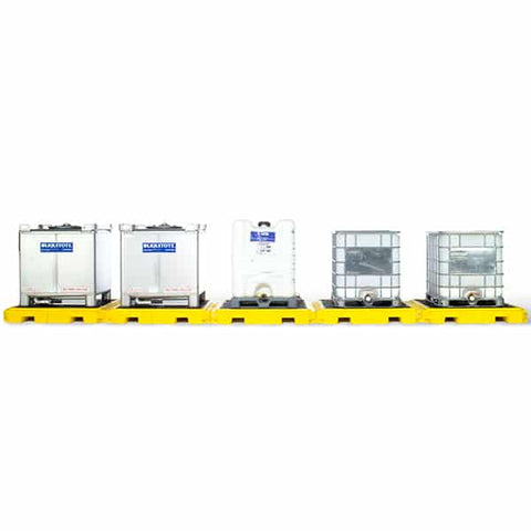 Ultra Five Deck Modular IBC System (5 Pallets) - Reinol NZ Ltd.