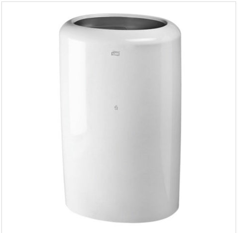 Tork B1 Rubbish Bin 50 Litre White 563000 - Reinol NZ Ltd.