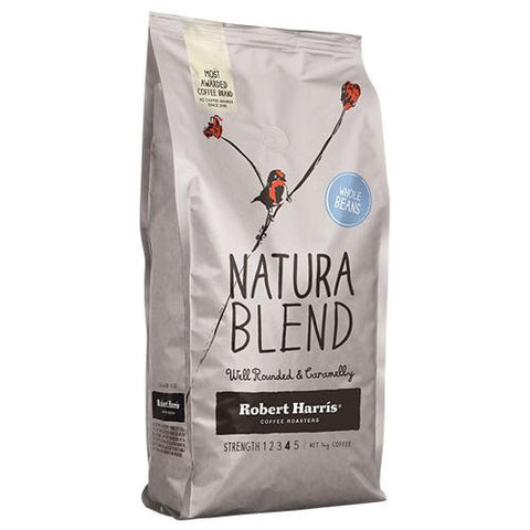 Robert Harris Natural Blend Coffee Beans - 1kg - Reinol NZ Ltd.