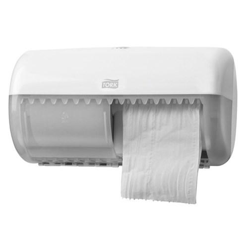 Tork T4 Conventional Toilet Tissue Dispenser 557000 White - Reinol NZ Ltd.