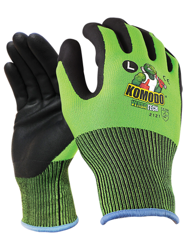 TGC - Komodo Vigilant Touch Screen Ready gloves Cut 1 Gloves - 12 Pairs