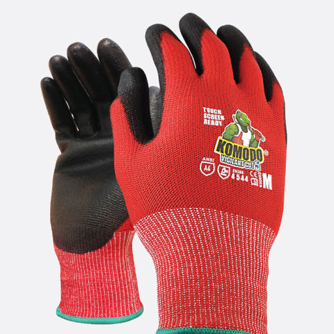 TGC - Komodo Vigilant Touch Screen Ready Gloves Cut 5 Glove - 1 Pair - Reinol NZ Ltd.