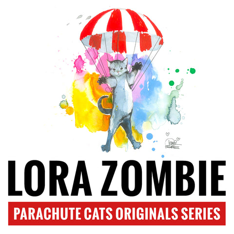 Lora Zombie's Parachute Cats Originals Series