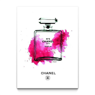 Chanel Bottle Pink