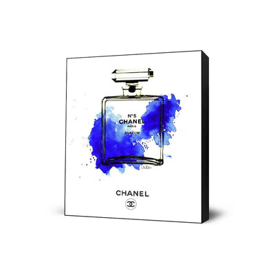 Chanel Bottle Blue