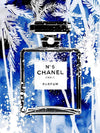 Chanel Blue Palms
