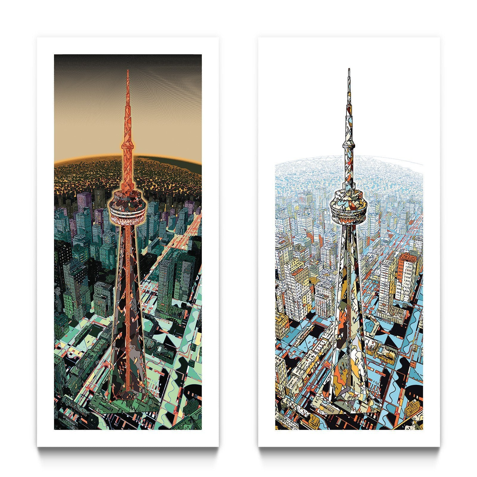 The Tower Limited Edition Print Set by HR-FM – Eyes On Walls