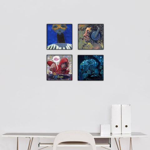 """Musical Inspiration"" Series Set of 4"
