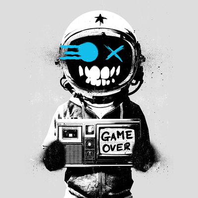Game Over (Blue)