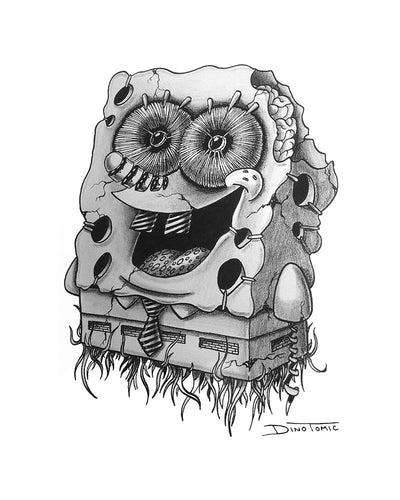 Spongebob II Creepyfied