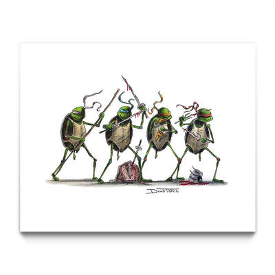 Teenage Mutant Ninja Turtles Creepyfied