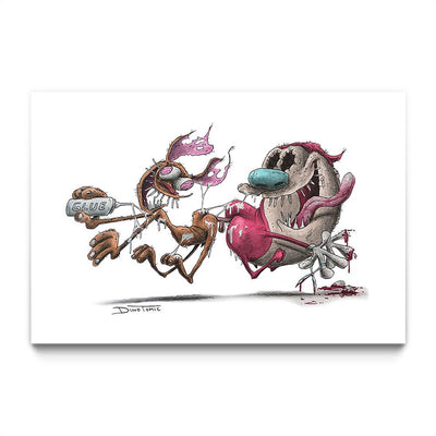 Ren and Stimpy Creepyfied