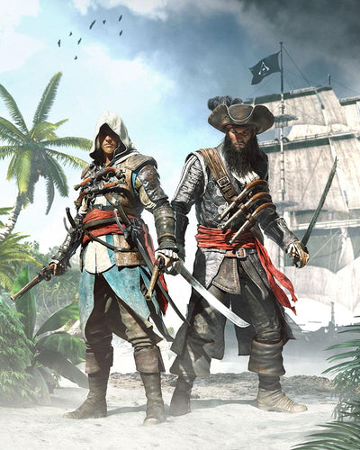 Edward & Blackbeard