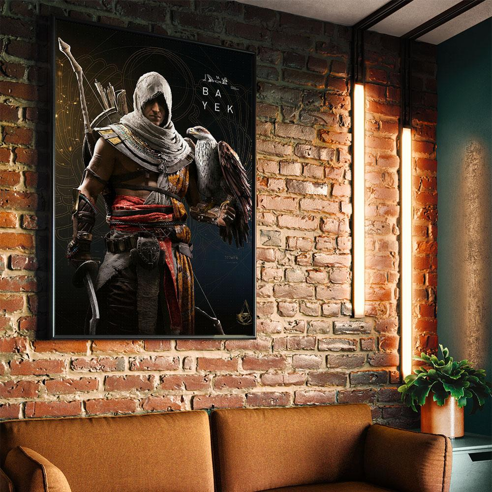 Bayek Of Siwa Front By Assassin S Creed Eyes On Walls