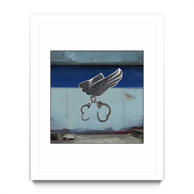 Winged Cuffs Graffiti