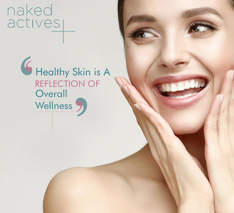 Healthy Skin is a reflection of overall wellness!