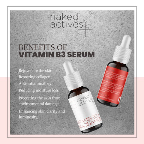 vitamin B3 Serum benefits
