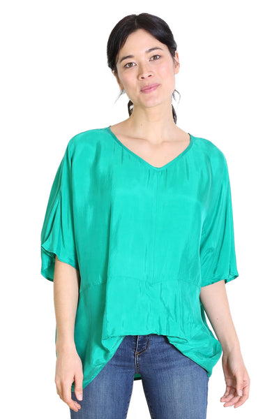 Marilyn Top Emerald Green