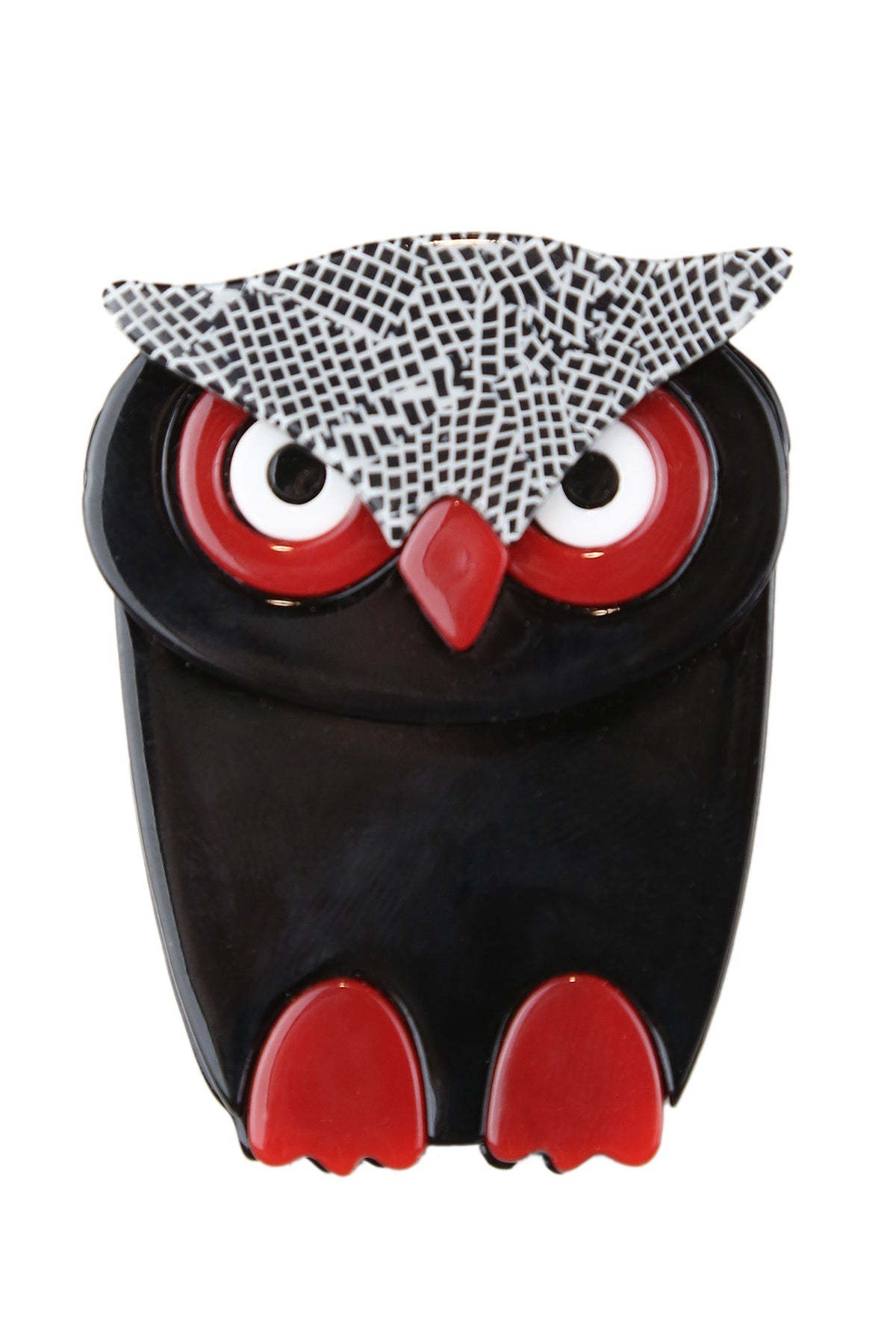 Harry The Black Owl Broach
