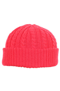 Woolly Docker Beanie Red