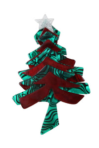 Jingle Bells Christmas Tree Broach