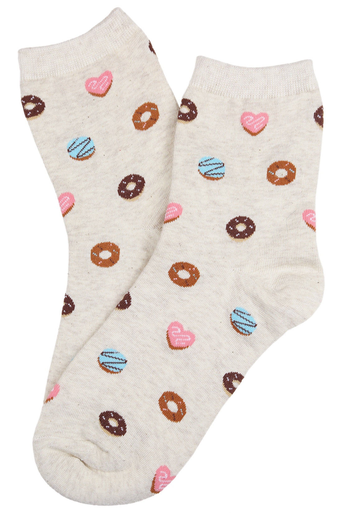Mmmm Donuts Cotton Socks