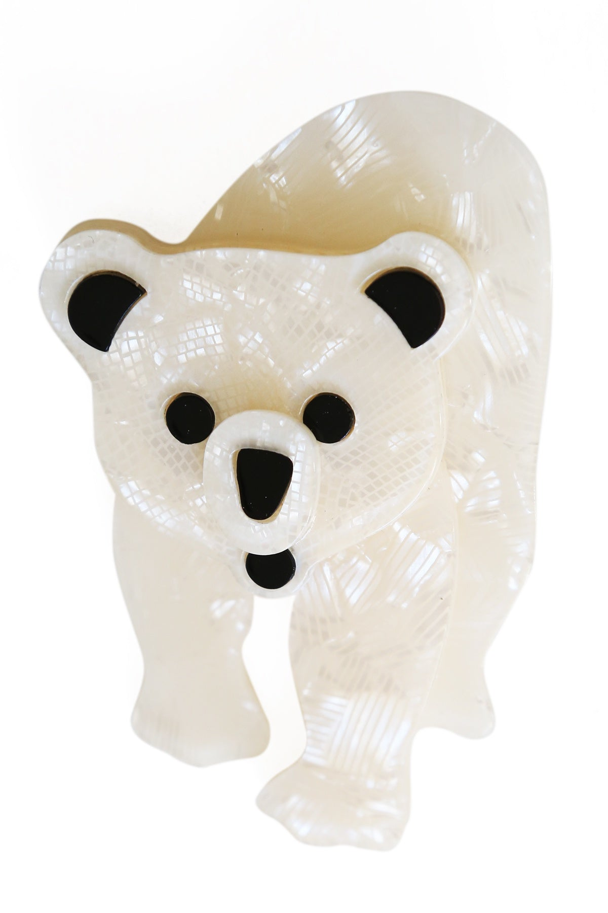 Beverly The Polar Bear Broach