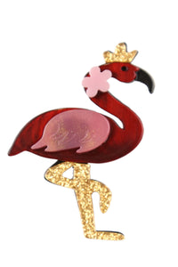Domingo The Flamingo Broach
