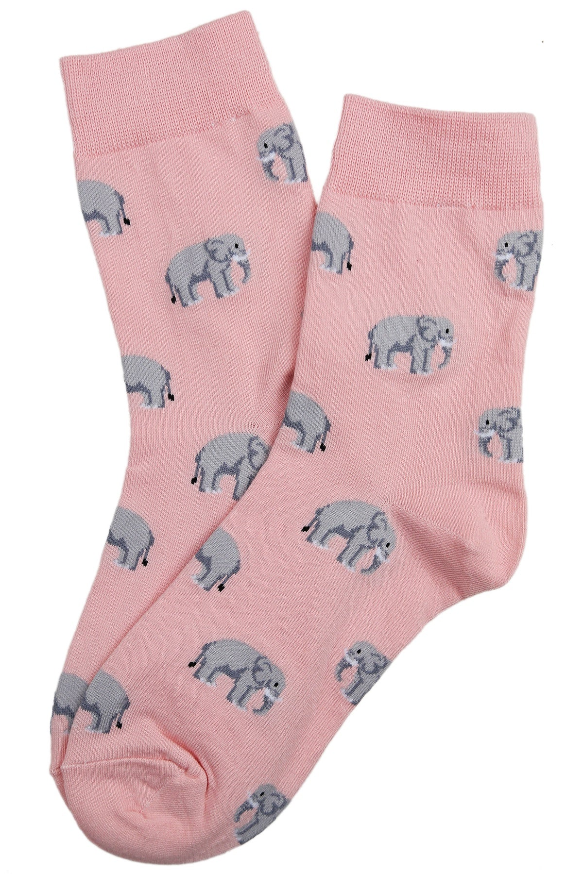 Edward the Elephant Cotton Socks Pink