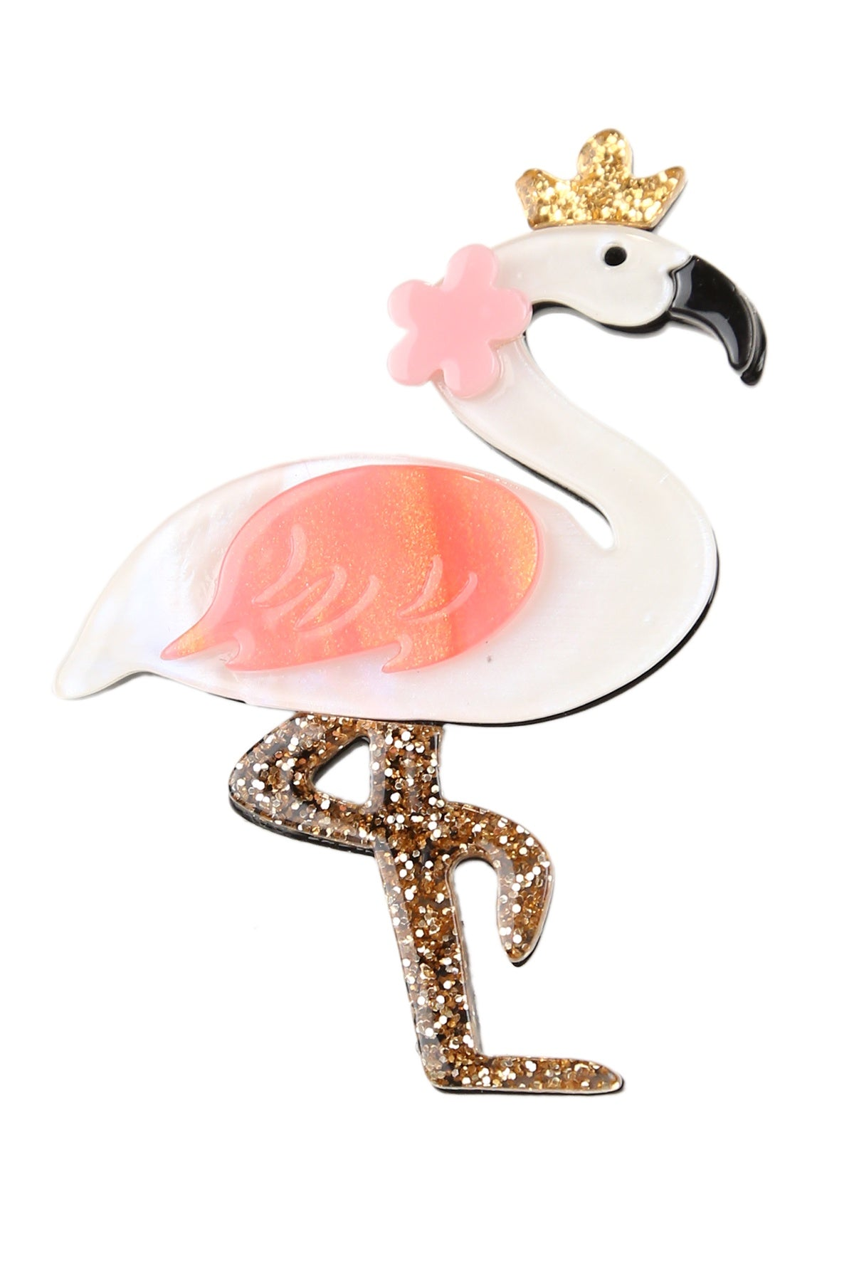 Danica The Flamingo Broach
