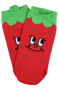 Tori the Tomato Cotton Ankle Socks