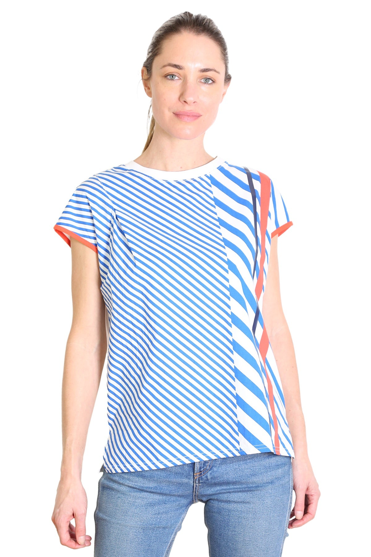 Capri Cotton Top Orange