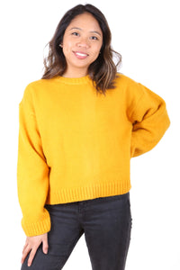 Canola Fields Wool Sweater