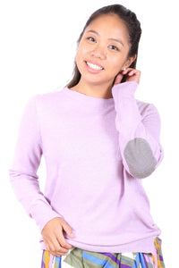 Philadelphia Wool Sweater  Lilac