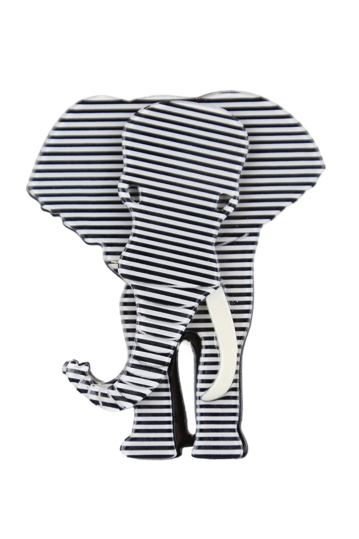 Elliot The Striped Elephant Broach