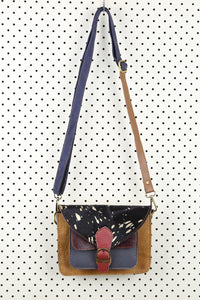 Two Tone Satchel Bag