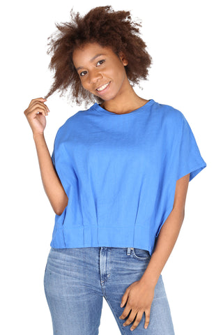 Billie Jean Top Blue