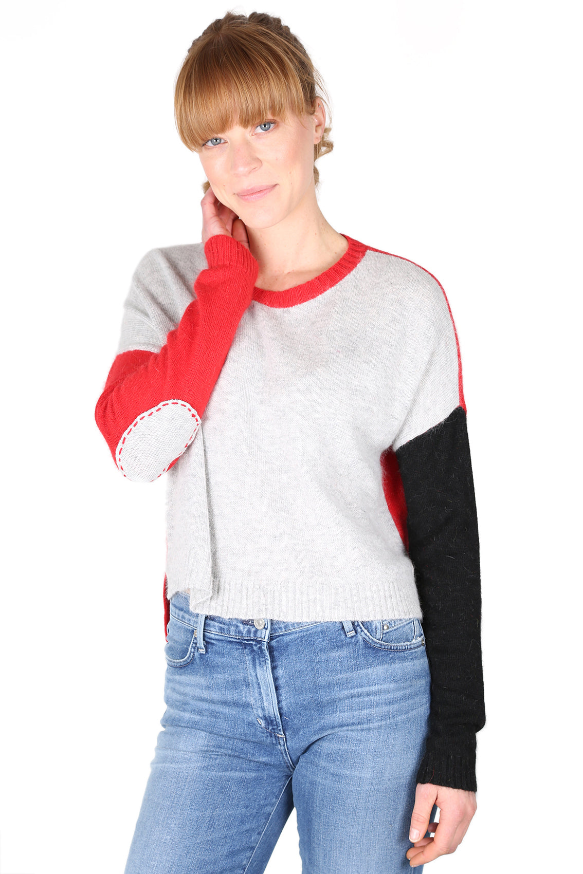 Block Arcade Sweater Red
