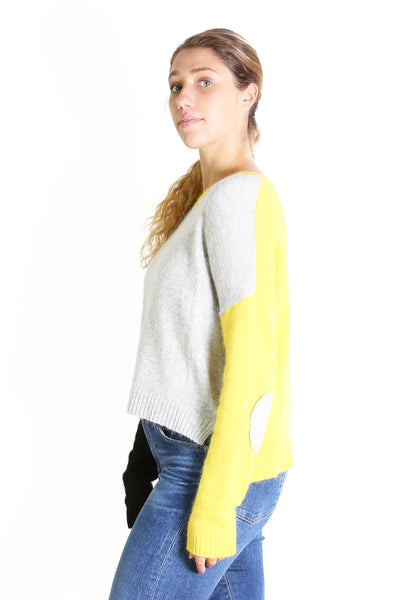 Block Arcade Sweater YELLOW